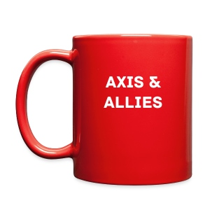Axis & Allies Tank Logo Coffee Cup with Axis & Allies - Full Color Mug