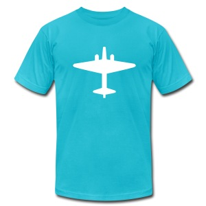 Air Force Tee - Large Logo - Men's T-Shirt by American Apparel
