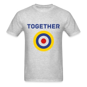 UK Together Tee with Logo - Men's T-Shirt