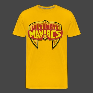 Ultimate Warrior Ultimate Maniacs Yellow Shirt - Men's Premium T-Shirt