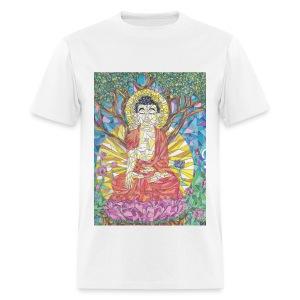 Buddha under the Bohdi Tree - Men's T-Shirt