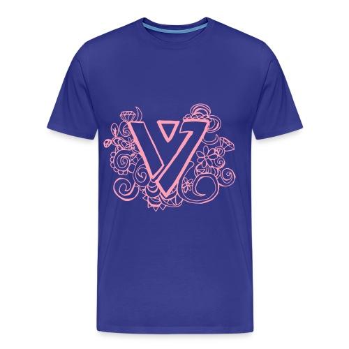 SEVENTEEN Logo T-Shirt - Men's Premium T-Shirt