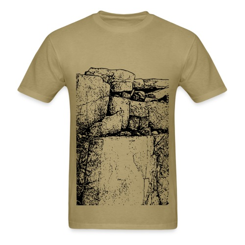 The Rock Wall - Men's T-Shirt