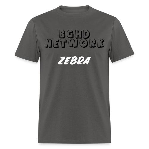 BGHD NETWORK ZEBRA SHIRT - Men's T-Shirt