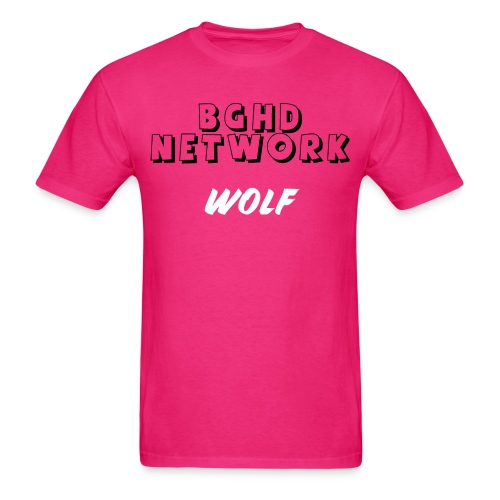 BGHD NETWORK WOLF SHIRT - Men's T-Shirt