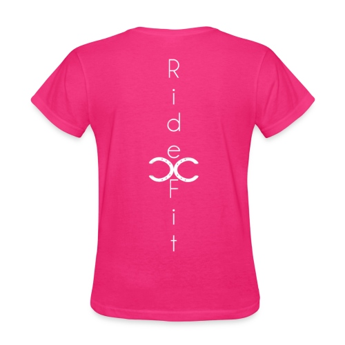 Ride Fit Tee Pink - Women's T-Shirt