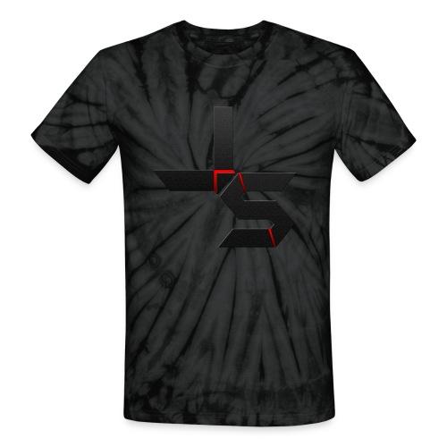 Black Tye Dye JS Shirt - Unisex Tie Dye T-Shirt