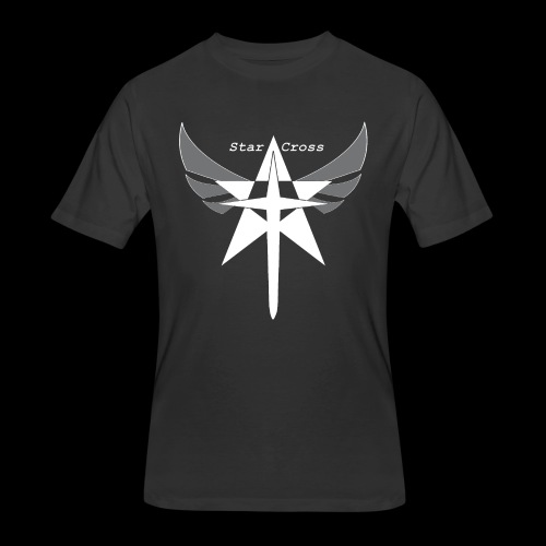 Star Cross Sword Inverted Tee - Men's 50/50 T-Shirt
