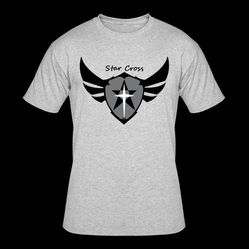 Star Cross Shield Tee - Men's 50/50 T-Shirt