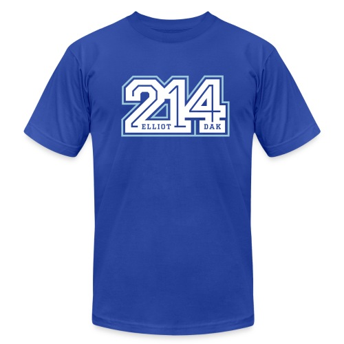 214 - Dallas MENS - Men's Fine Jersey T-Shirt