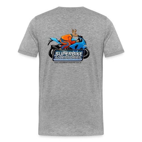 Men's Shirt Grey - Men's Premium T-Shirt