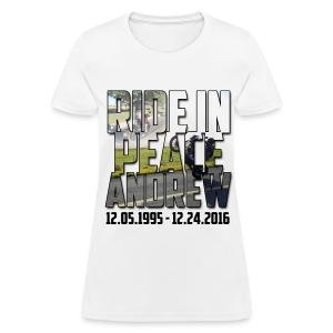 Ride in Peace - Women's T-Shirt
