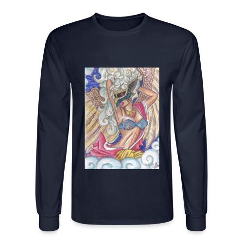 Men's Tengu Warrior Long Sleeve shirt - Men's Long Sleeve T-Shirt