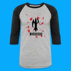 Wavediggaz Stickball tee - Baseball T-Shirt