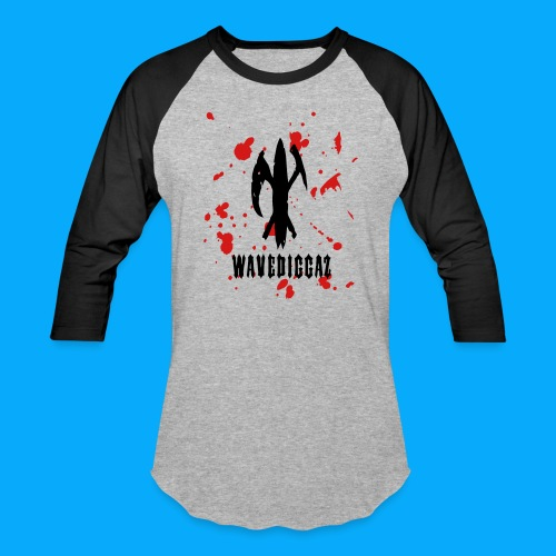 Wavediggaz Stickball tee - Baseball T-Shirt