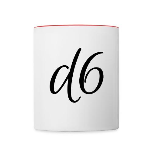d6 Collab Contrast Mug - Contrast Coffee Mug
