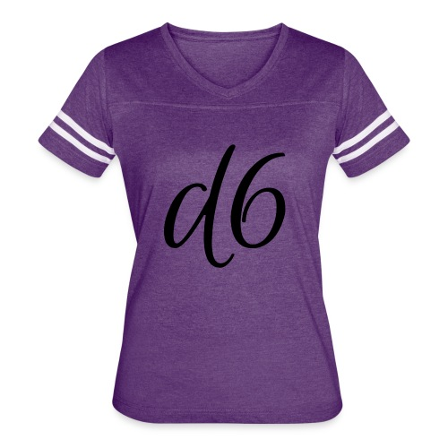 d6 Collab Women's Vintage Sport T-Shirt - Women's Vintage Sport T-Shirt