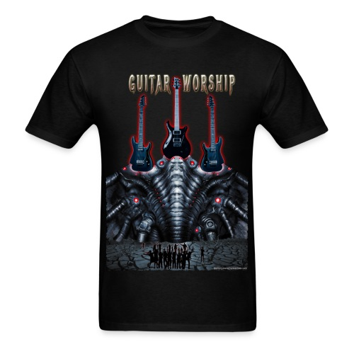Guitar Worship - Men's T-Shirt
