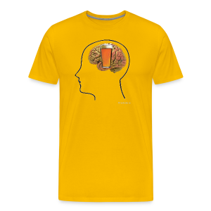 Great Minds Drink Alike Men's Premium T-Shirt - Men's Premium T-Shirt
