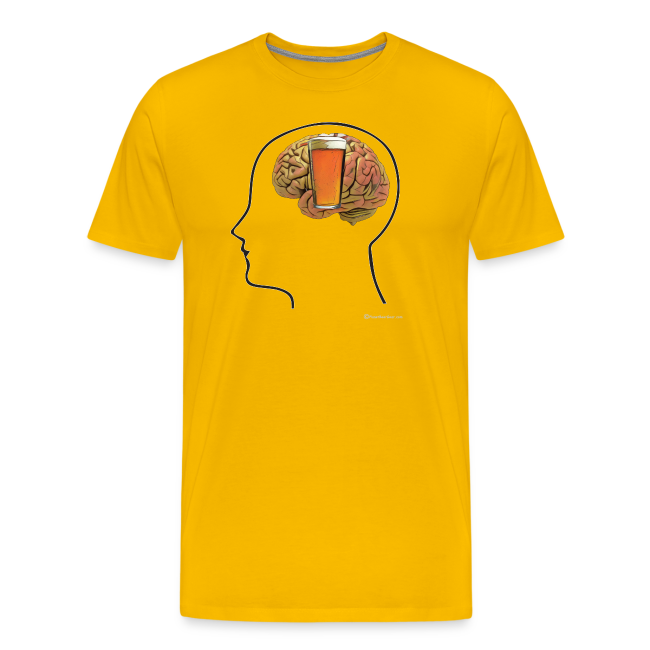 Great Minds Drink Alike Men's Premium T-Shirt