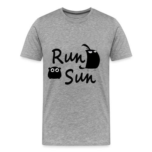 Run Sun Shirt - Men's Premium T-Shirt