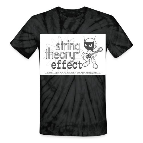 String Theory Effect Tye Dye - Unisex Tie Dye T-Shirt