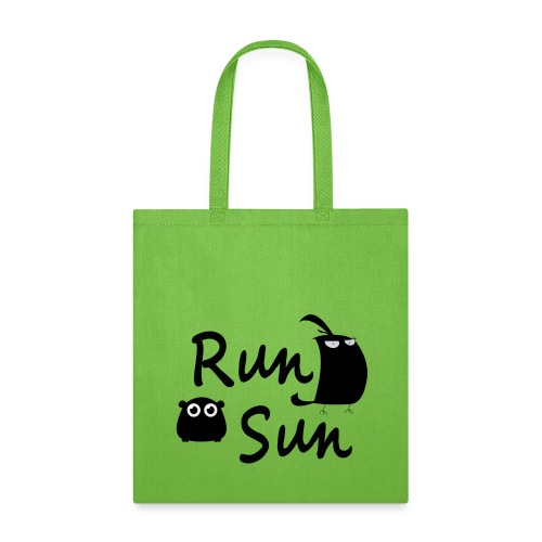 Run Sun Tote Bag - Tote Bag
