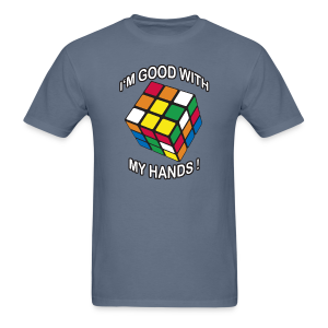 Rubik's Cube Good With My Hands - Men's T-Shirt