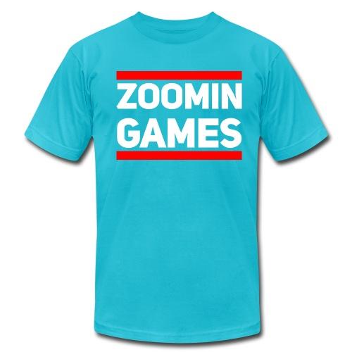 It's Like That (dark) : turquoise - Men's Fine Jersey T-Shirt
