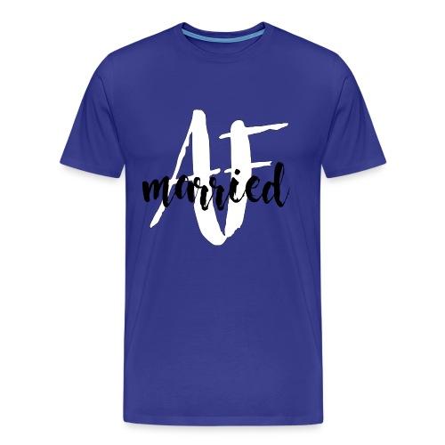 Men's Married AF Shirt - Men's Premium T-Shirt