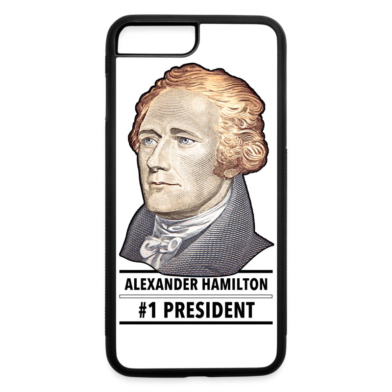alexander hamilton number - iPhone 7 Plus/8 Plus Rubber Case