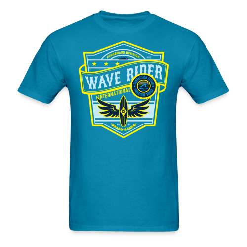 Wave Rider - Men's T-Shirt