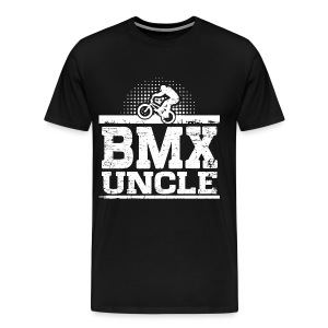 BMX Uncle T-Shirts - Men's Premium T-Shirt