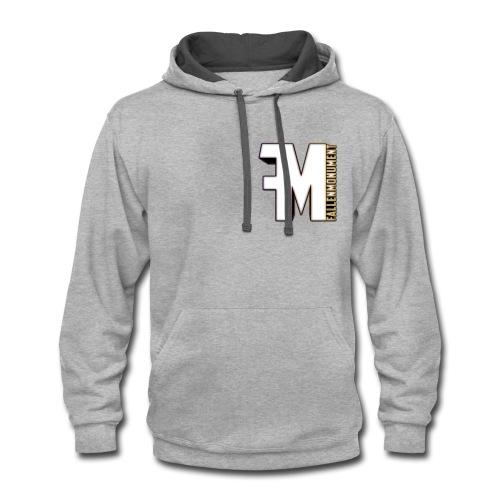 FM hoodie 2 - Contrast Hoodie