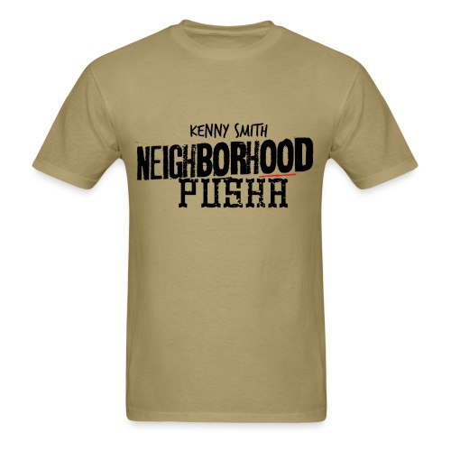 Neighborhood Pusha Khaki - Men's T-Shirt
