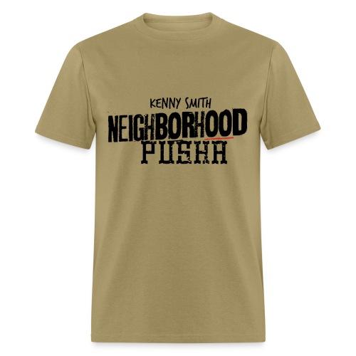 Neighborhood Pusha Khaki - Men's T-Shirt