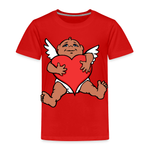 Valentines Shirts Cupid Love - Toddler T-shirts - Toddler Premium T-Shirt