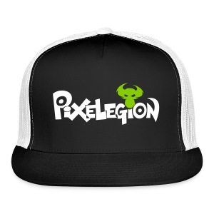 Pixelegion Hat - Green - Trucker Cap