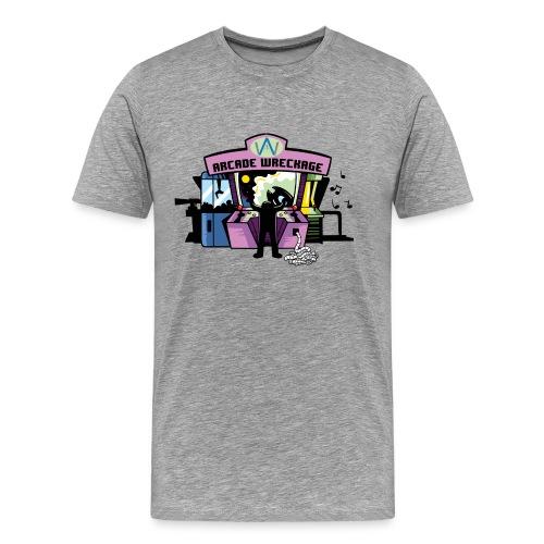 Men's ArcadeWreckage T-Shirt (Bigger sizes) - Men's Premium T-Shirt