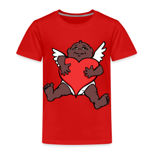African Cupid Valentines T-shirt - Baby Shirts - Toddler Premium T-Shirt
