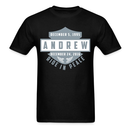 Ride in Peace - Men's T-Shirt
