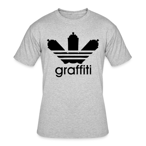 Male Graffiti T-Shirt - Men's 50/50 T-Shirt