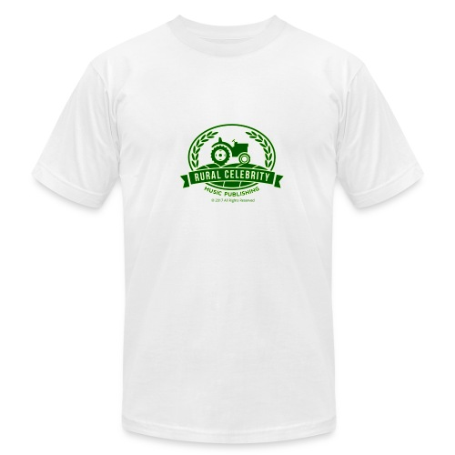 Official Rural Celebrity Music Publishing T Shirt -White - Men's  Jersey T-Shirt