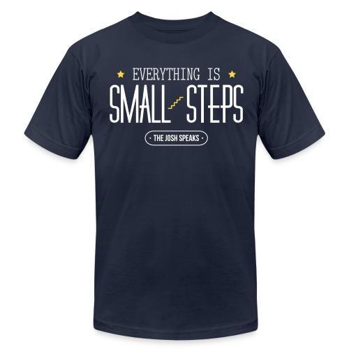 Everything is Small Steps Motivational Men's T-Shirt - Men's  Jersey T-Shirt