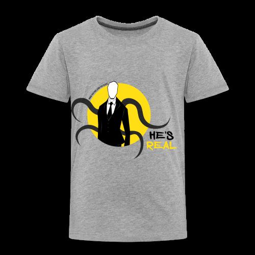 Toddler's Slender Man's Real! - Toddler Premium T-Shirt