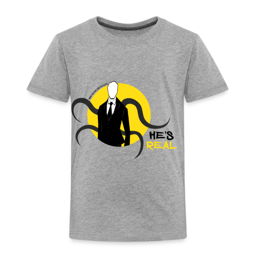 Toddler's Slender Man's Real! - Toddler Premium T-Shirt