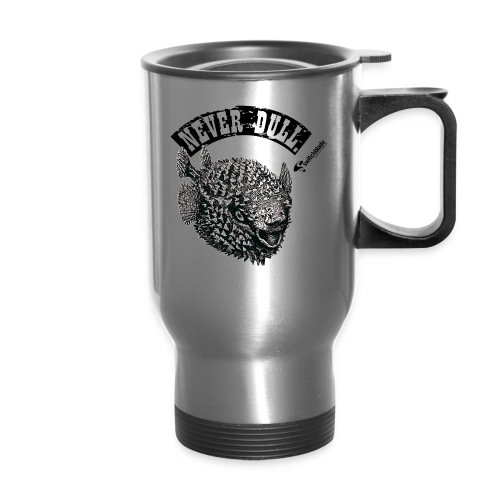 Blowfish Never Dull travel mug - Travel Mug