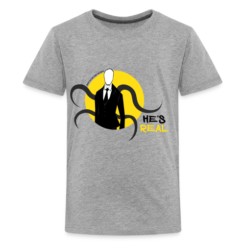 Kid's Slender Man's Real! - Kids' Premium T-Shirt