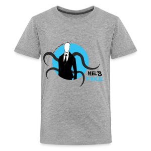 Kid's Slender Man's Fake! - Kids' Premium T-Shirt