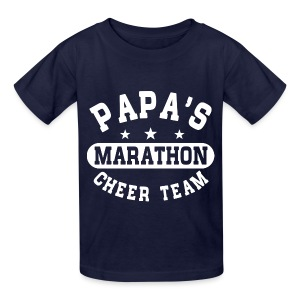 Papas Marathon Cheer Team Kids' Shirts - Kids' T-Shirt